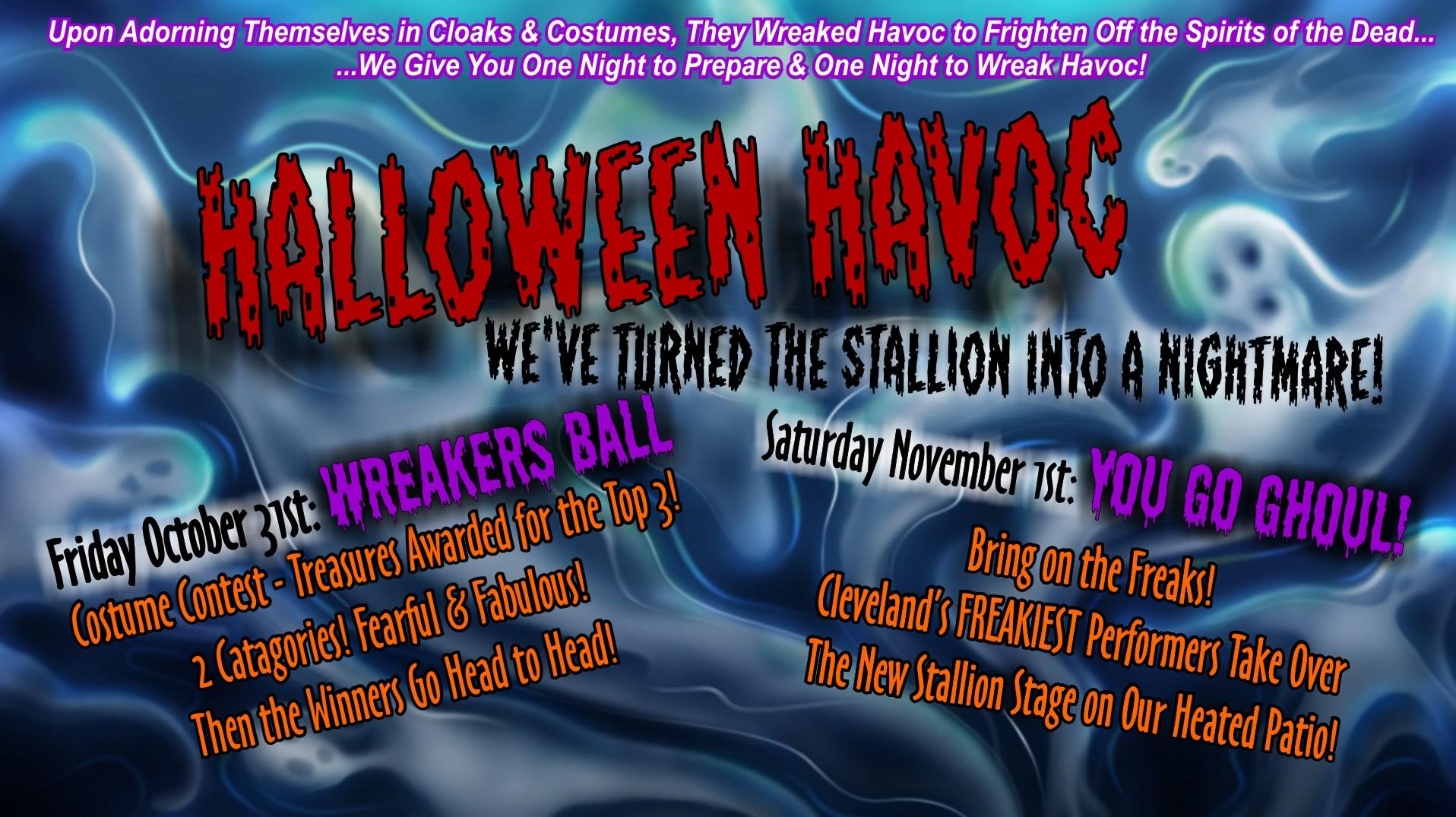 Halloween Havoc - Wreakers Ball