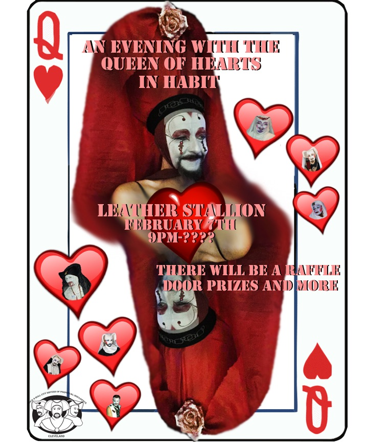 An Evening with the Queen of Hearts in Habit