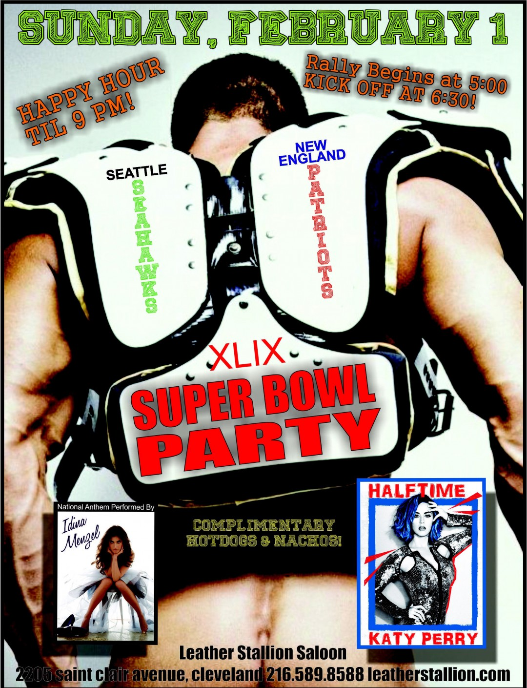 XLIX Super Bowl Party