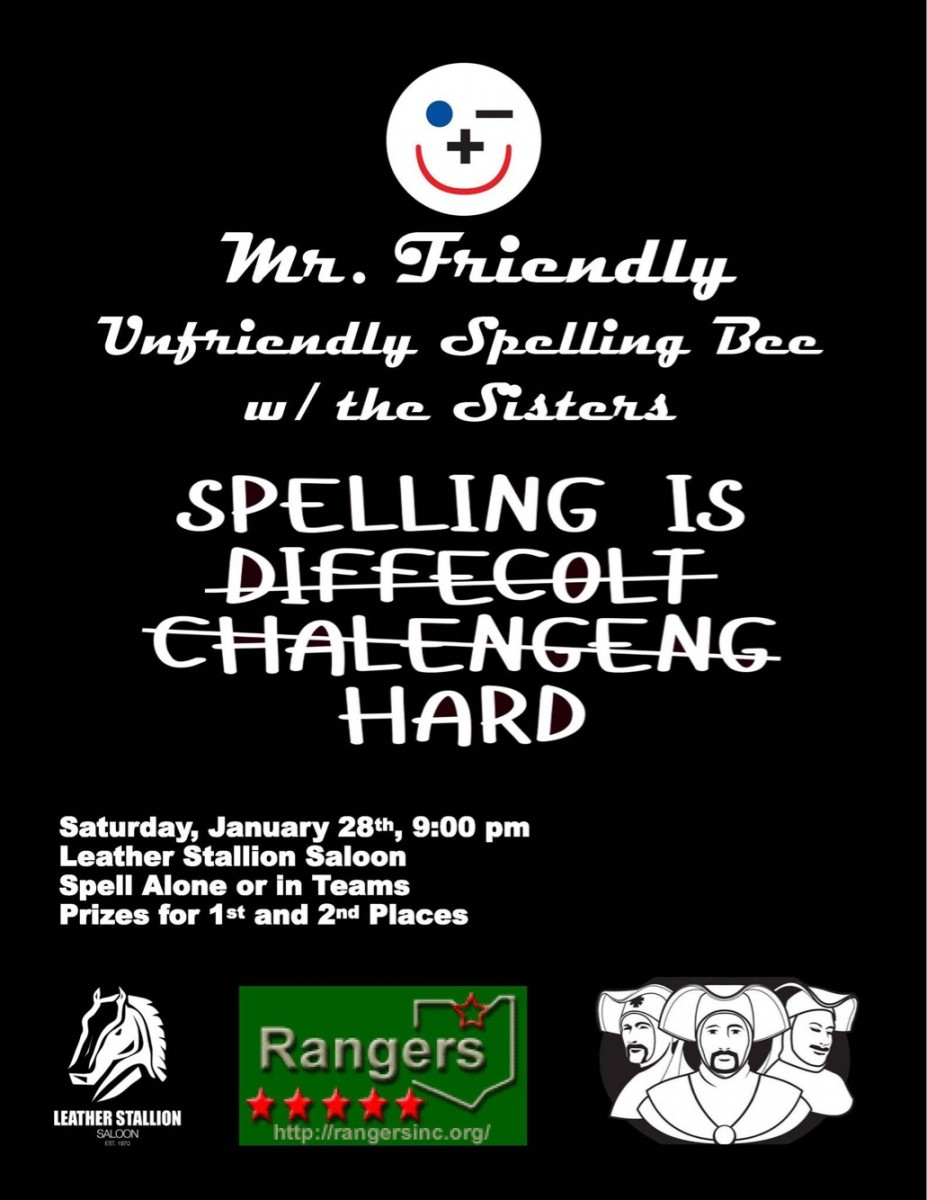 Mr Friendly - Unfriendly Spelling Bee with The Sister