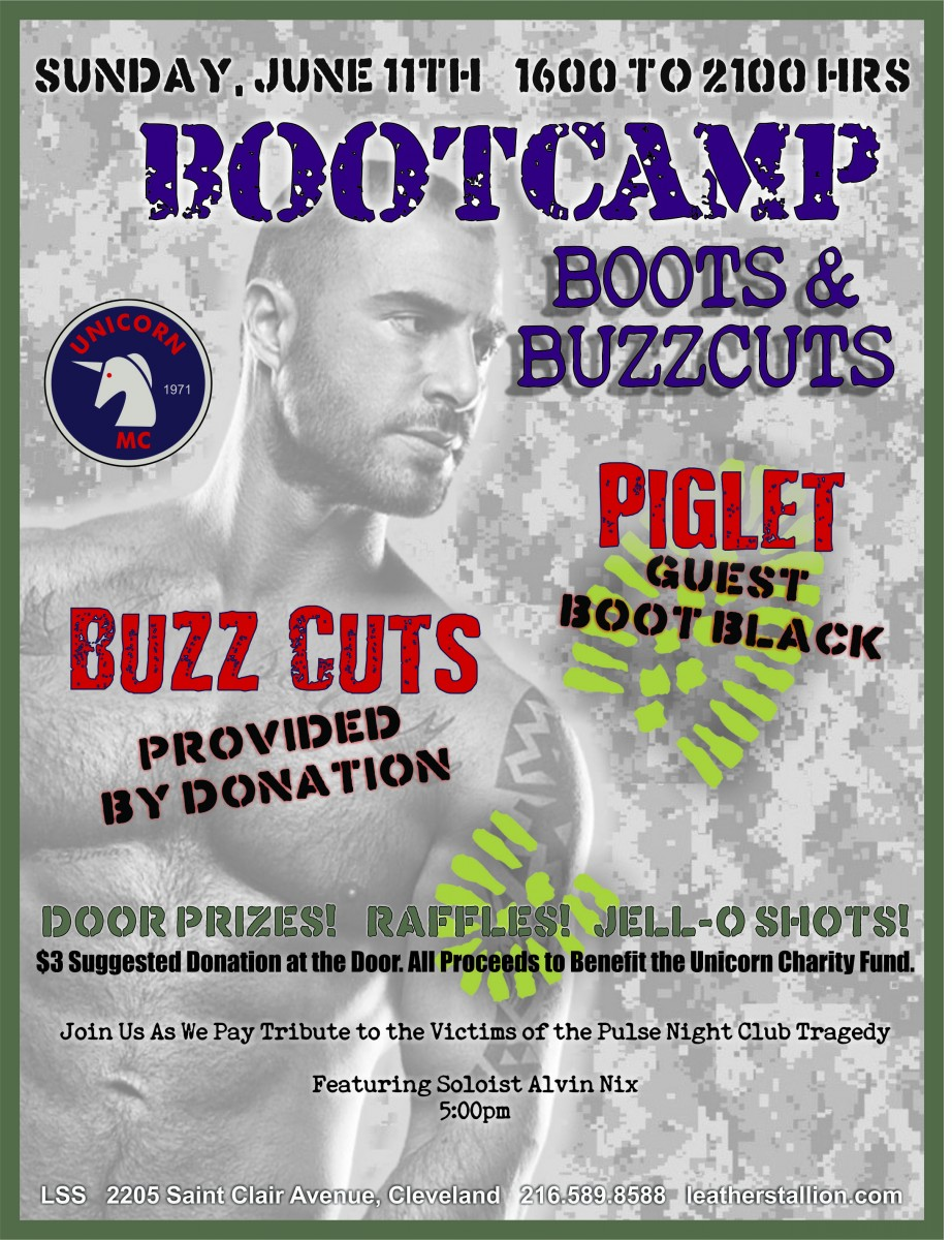 Unicorns Bootcamp Boots and Buzzcuts