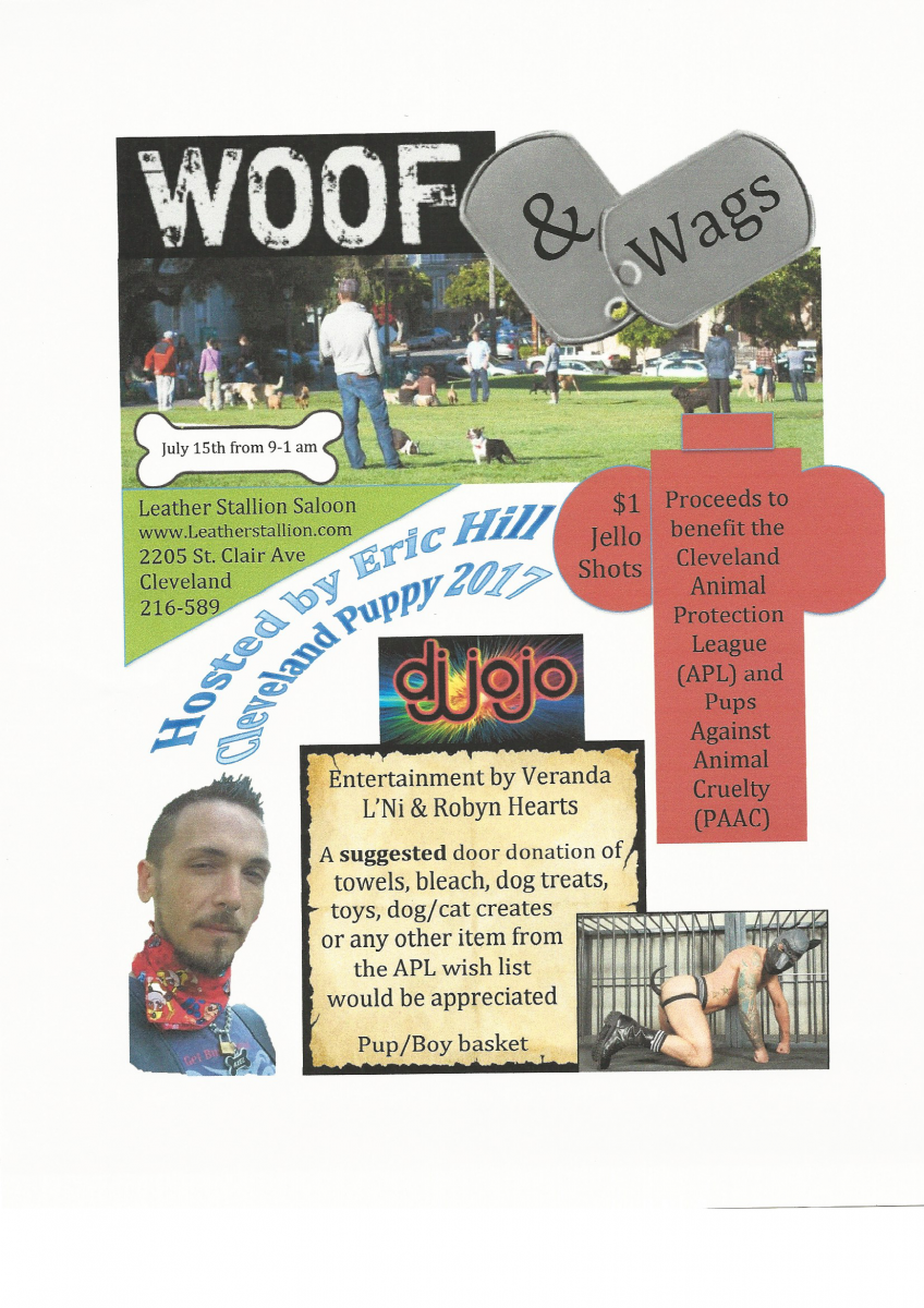Woof and Wags Fundraiser