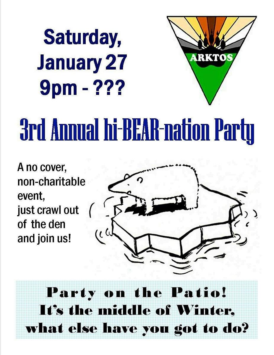 Arktos Hibearnation Party