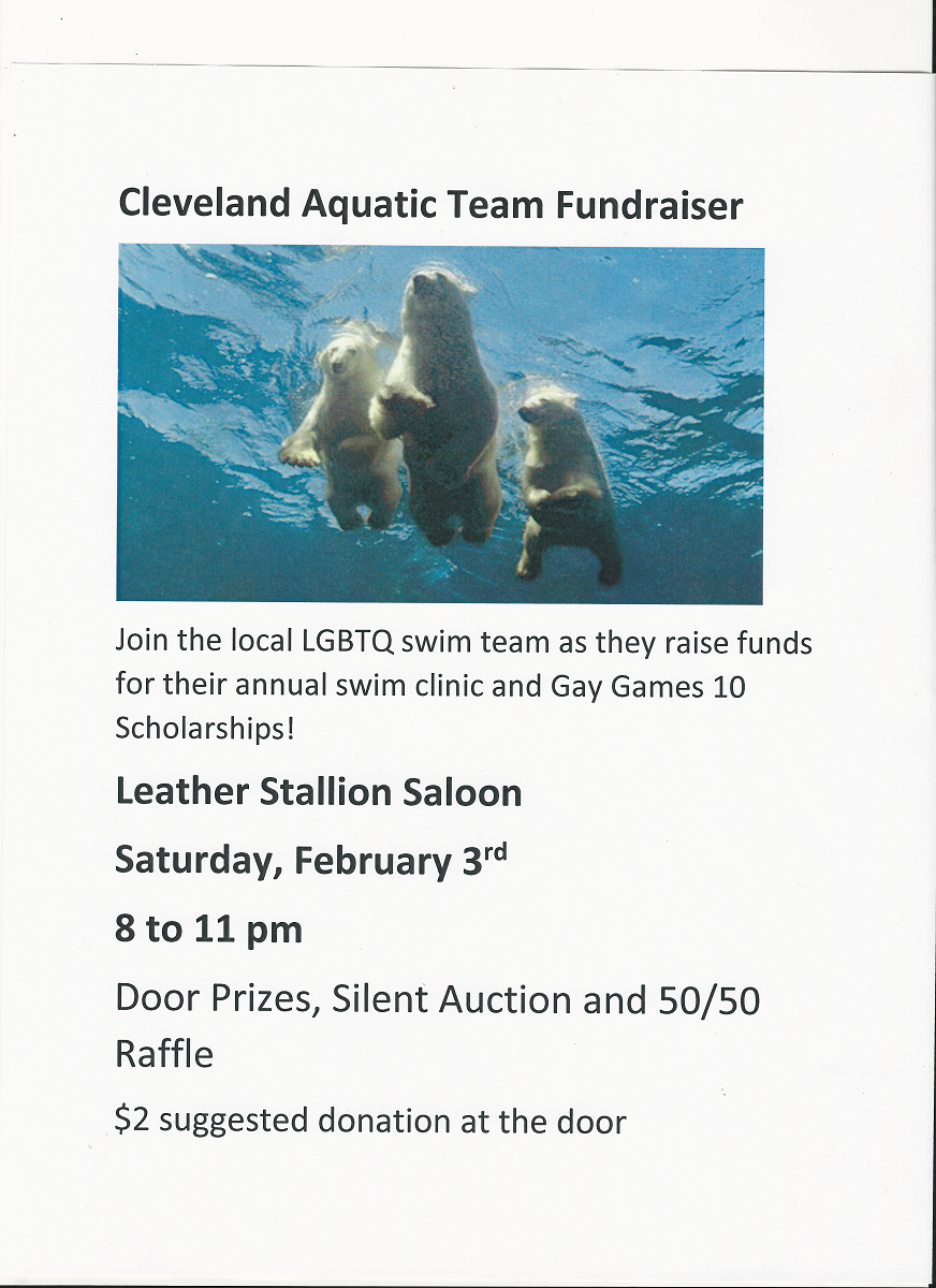 Clevealnd Aquatic Swim Team Fundraiser