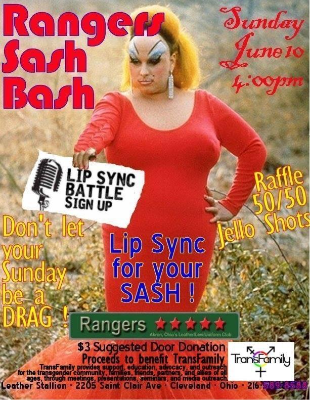 Rangers Sash Bash