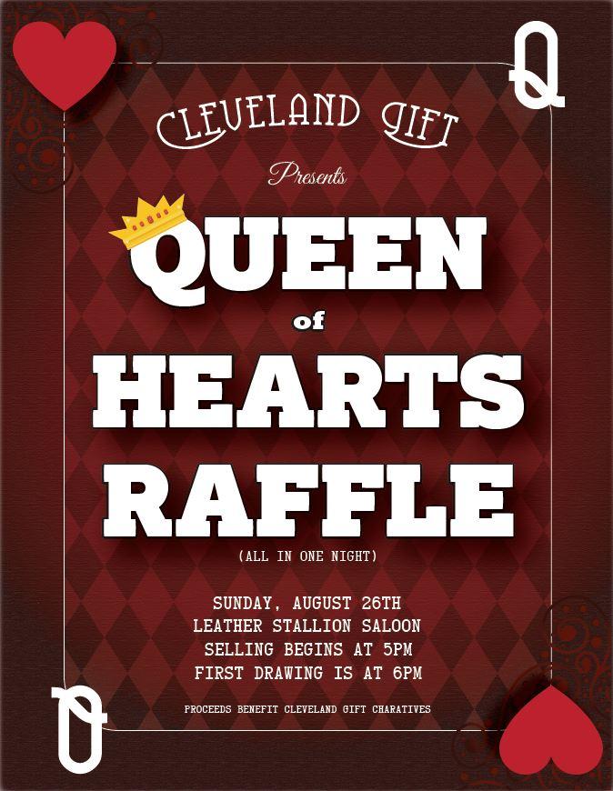 GIFT Queen of Hearts raffle