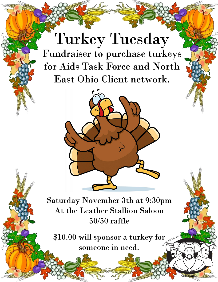 Rock N Roll City Sisters Turkey Tuesday