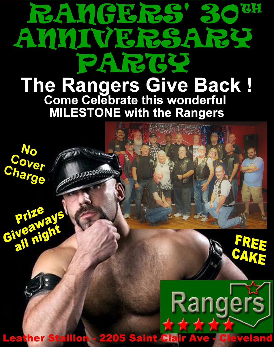 Rangers 30th Anniversary Party