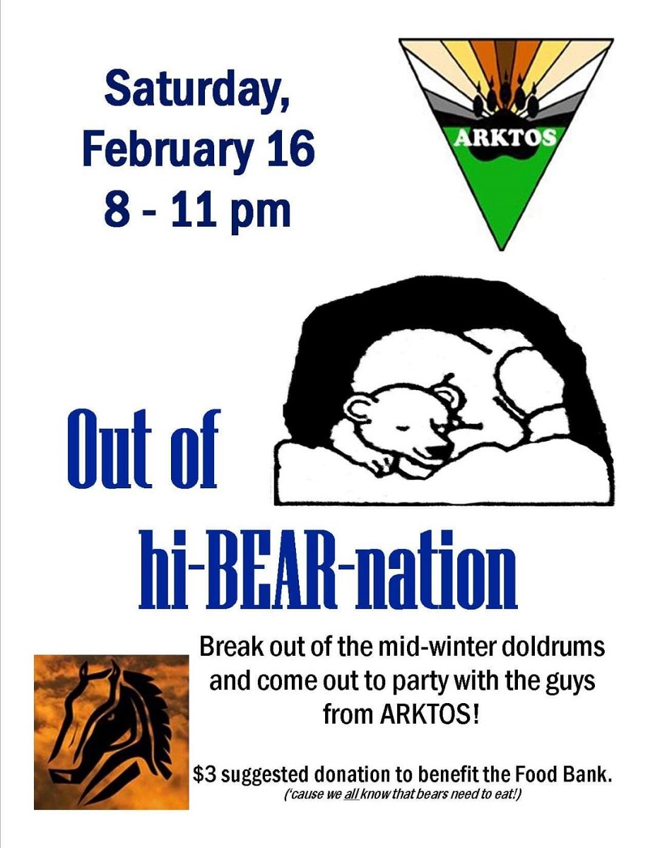 Arktos out of hiBearnation Party