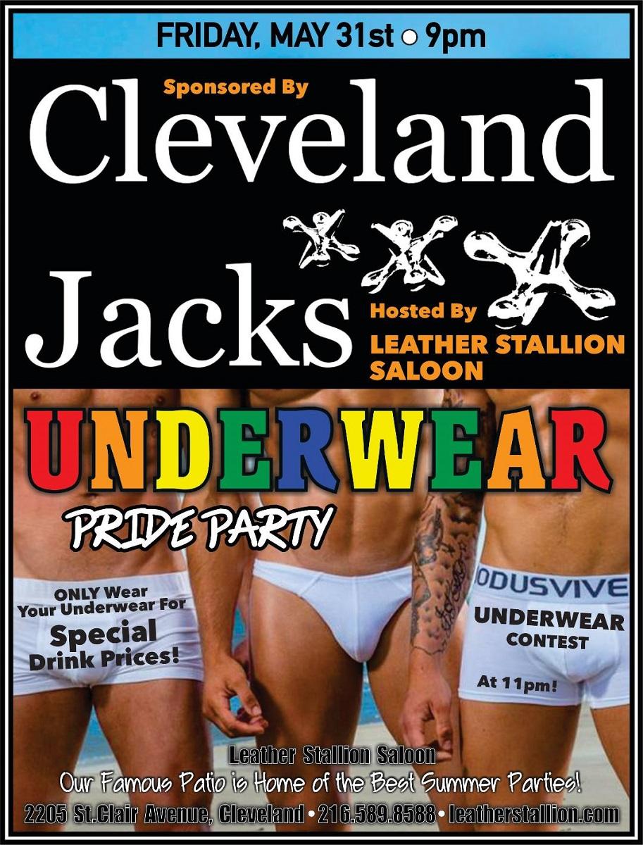 Cleveland Jacks Underwear Pride Party