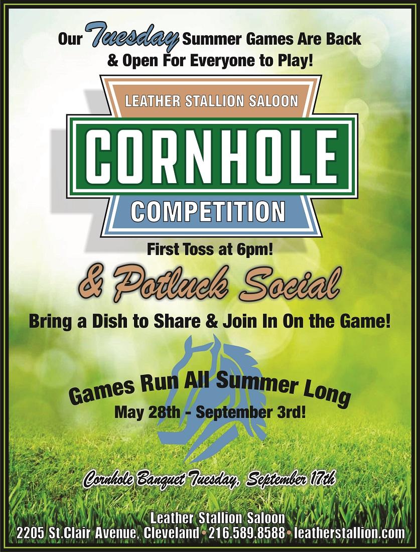 Cornhole Competition/Potluck