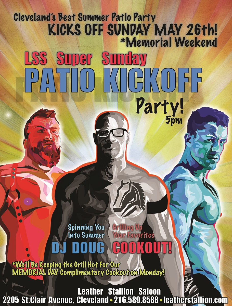 Super Sunday Patio Party
