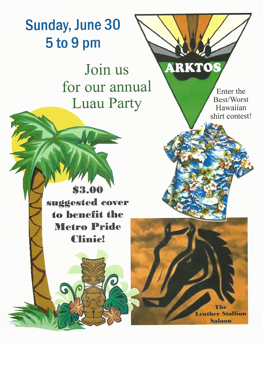 Arktos Luau Party