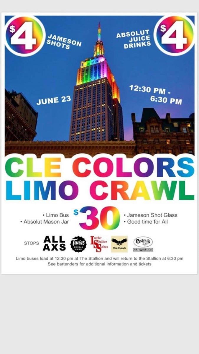 CLE Colors Bar Crawl