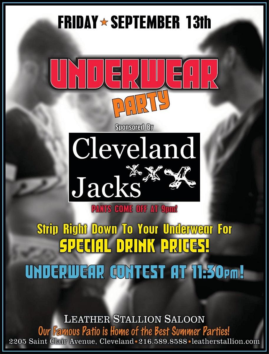 September Underwear Party w/ Cleveland Jacks