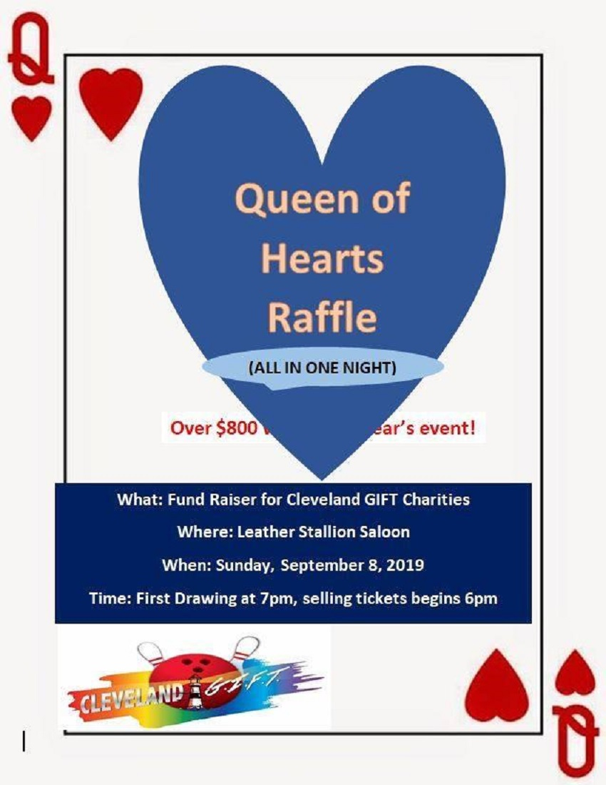 Cleveland GIFT Queen of Hearts