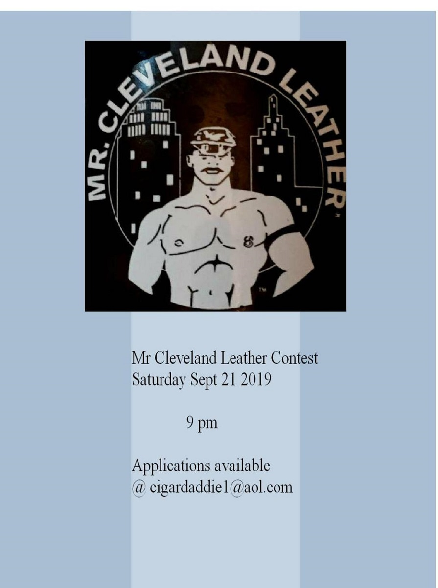 Mr Cleveland Leather 2019 Contest