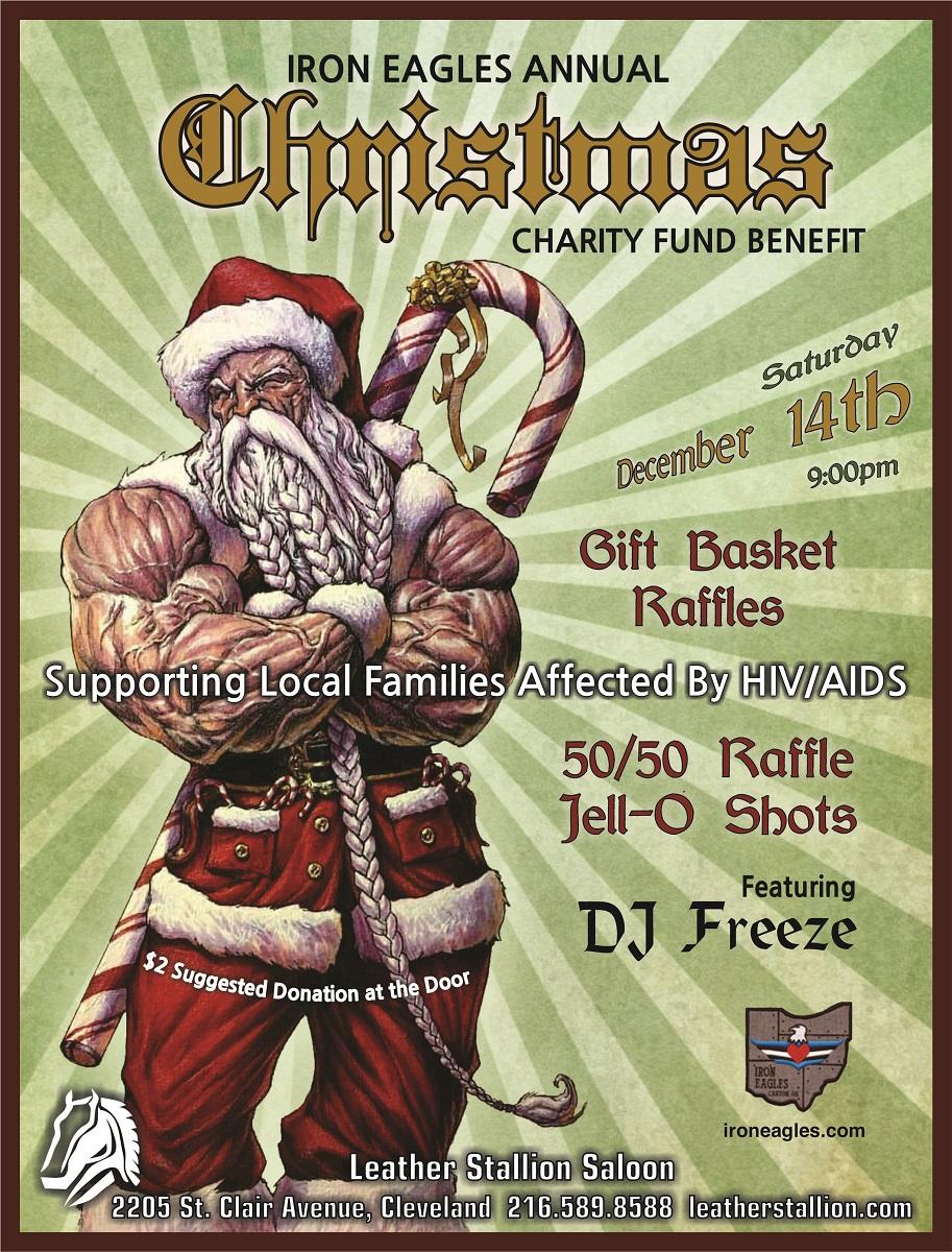 Iron Eagles Annual Christmas Fundraiser