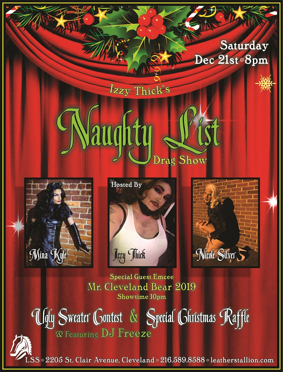 Izzy Thick's Naughty Last Drag Fundraiser and Show